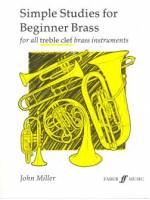 Simple Studies for Beginner Brass (for all treble  clef brass instruments)