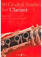 80 Graded Studies for Clarinet Book 1