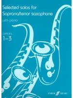 Selected solos for Soprano/tenor Saxophone Grade 1-3