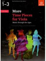 More Time Pieces for Viola, Volume 1: G1-3