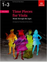 Time Pieces for Viola Vol. 1